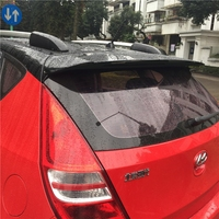 For Hyundai i30 2009 2010 2011 2012 2013 2014 2015 High Quality ABS Material Car Tail Wing Unpainted Primer Color Rear Spoiler