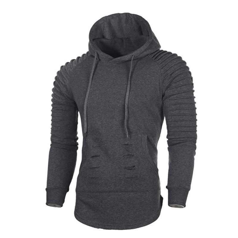 CYSINCOS Neue 2019 Herbst Mode Männer Marke Casual Männer Sweatshirt Einfarbig Hoodie Jaskets Männlichen Hoodies Männer Hody Plus Größe 3XL