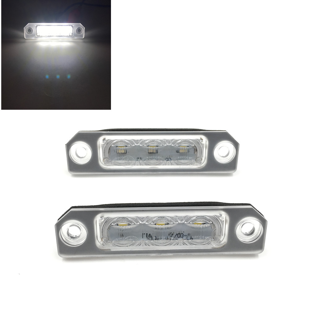 CYAN SOIL BAY LED number plate lamp no error license light for Mercury Milan Mercury Sable Lincoln Zephyr Lincoln MKZ/MKX/MKT