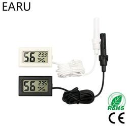 Мини ЖК Цифровой термометр гигрометр термостат для помещений удобный датчик температуры измеритель влажности измерительный прибор зонд