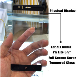 Image 4 - Full Screen Glass For ZTE Nubia Z17 Lite Tempered Glass for Nubia M2 V18 Z18 Mini Z17 Mini S Screen Protector Protective Film