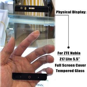 Image 4 - Verre plein écran pour ZTE Nubia Z17 Lite verre trempé pour Nubia M2 V18 Z18 Mini Z17 Mini S Film protecteur décran Film de protection