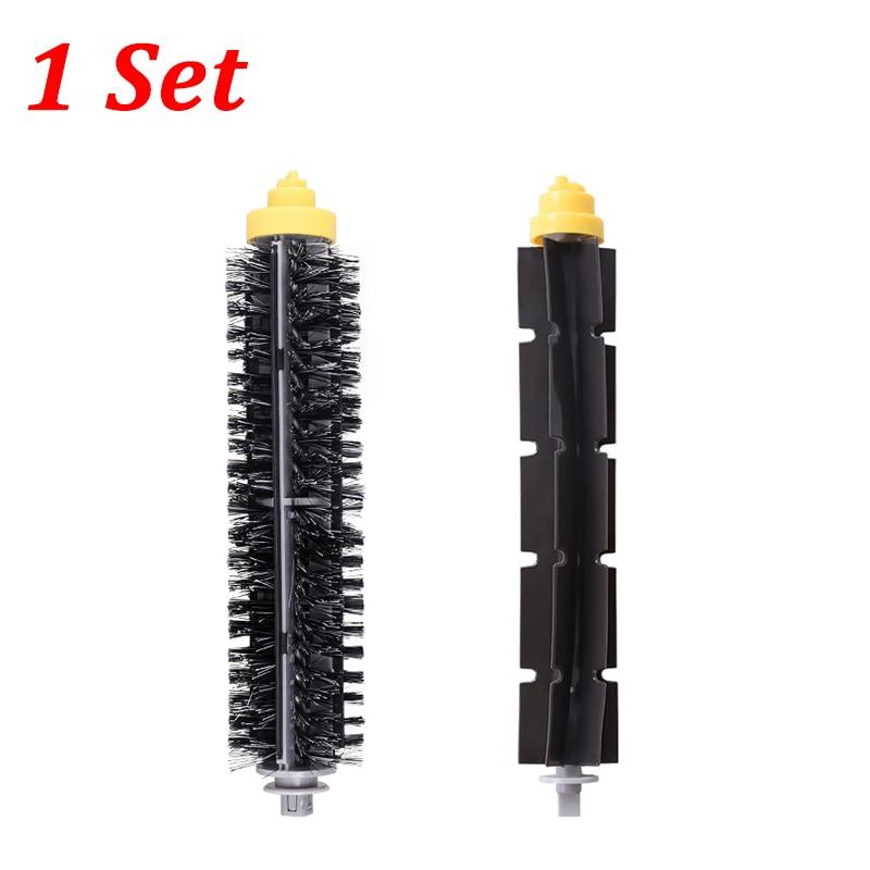 Bristle Brush + Flexible Beater Brush Replacement Kit For IRobot Roomba 600 700 Series 650 630 660 770 780 790 Vacuum Cleaner