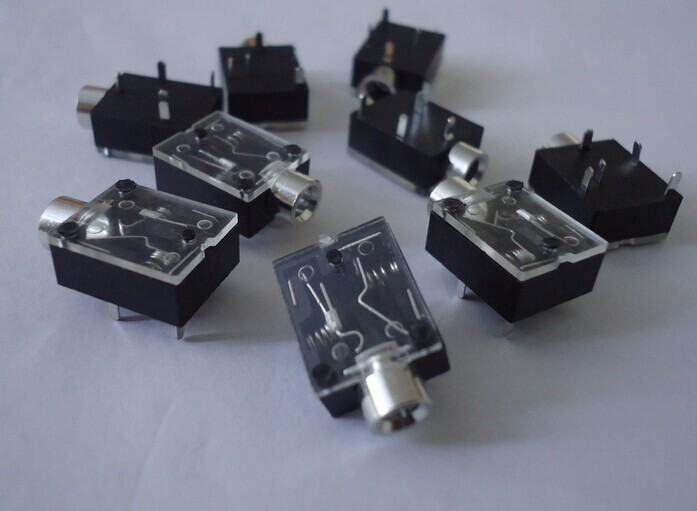 10PCS 3.5mm Female Audio Connector 5 Pin DIP Headphone Jack Socket PJ-324 free shipping 100% tested for kangjia washing machine control board ncxq qs07 1 computer board on sale