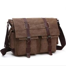 Fashion Ipad Bag canvas Men's Crossbody Bag Men's shoulder bag Men messenger bag 8168