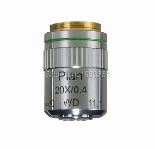 Scientific 45mm 20X Long working LWD M Plan Semi APO objective lens Industry Metallurgical Microscope objective