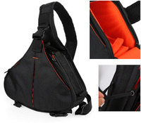 New DSLR Shoulder Camera Bag Video Portable Diagonal Triangle Carry Case For Canon 600D D600 7D