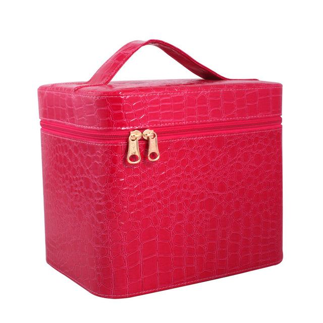 2016 nuevos grandes bolsas de capacidad damas bolsa cosméticos
