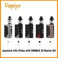 Original joyetech evic primo con unimax 25 caja vape mod atomizador 200 w evic primo by dual 18650 baterías electrónicas cigarrillo