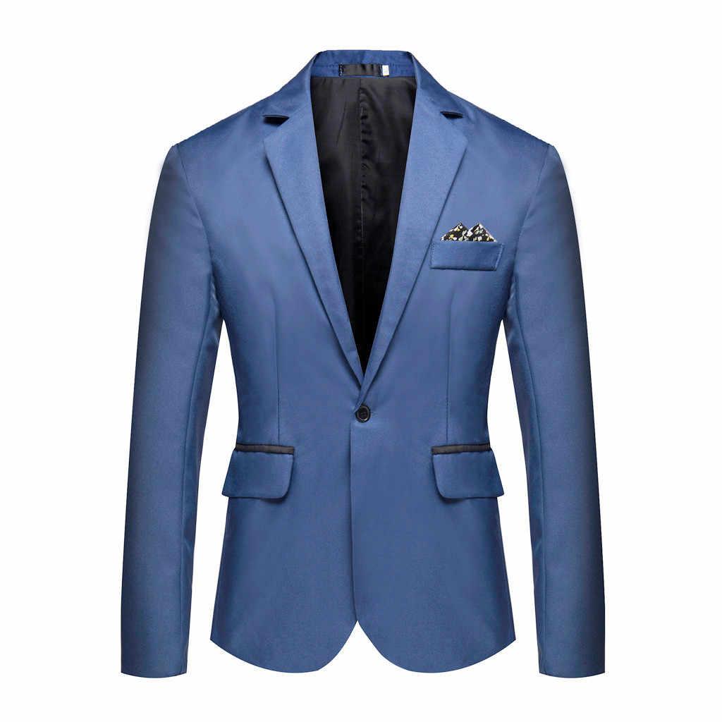 Большой размер, модный Блейзер, костюм, куртка, однотонный для бизнеса, для свадебной вечеринки, верхняя одежда, пальто, костюм, топы, жилет, костюм homme, 8 цветов