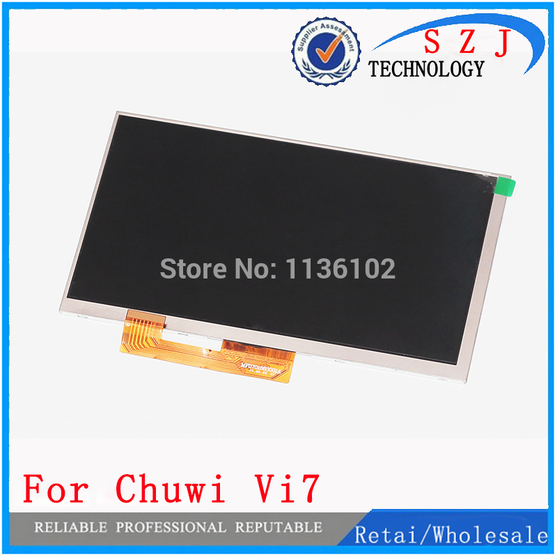 все цены на New 7'' inch LCD display for Chuwi vi7 Tablet PC LCD Screen Panel Lens Frame replacement Free Shipping
