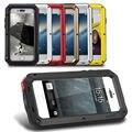 Heavy duty armadura resistente à prova de choque de metal híbrido anti choque prova case para iphone 5 s 5s se telefone capa protetora capinha coque