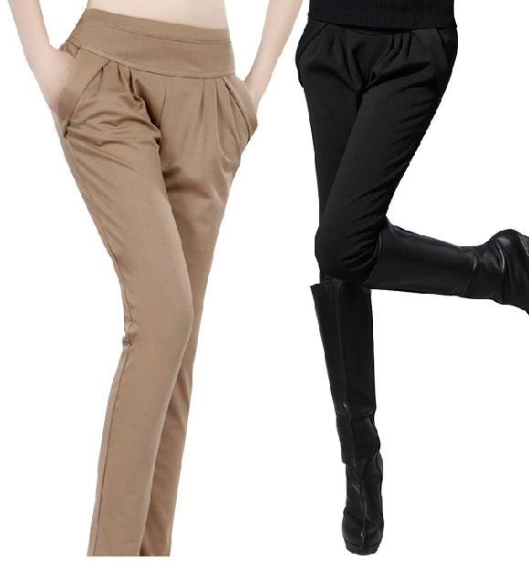 New 2017 spring summer Hot selling woman harlan height Trousers casual pants elastic thin capris Leggings body feet large size