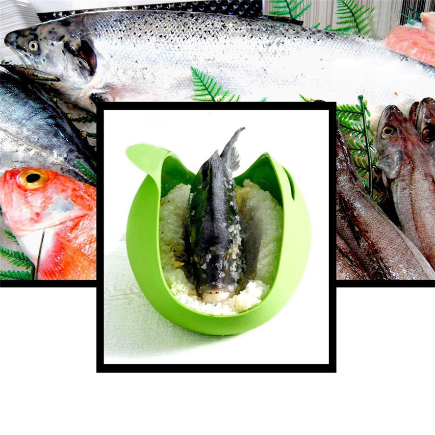 New Fish Folding Steamer 1PC Home Kitchen Microwave-Vegetable Steamer Bread Maker Fish Poacher Dec07#30