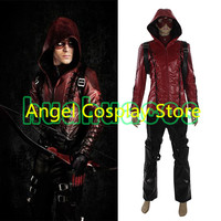 Hot Game Movie Green Arrow Season 3 Roy Harper Red Battleframe Cosplay Costume Uniform Custom Made