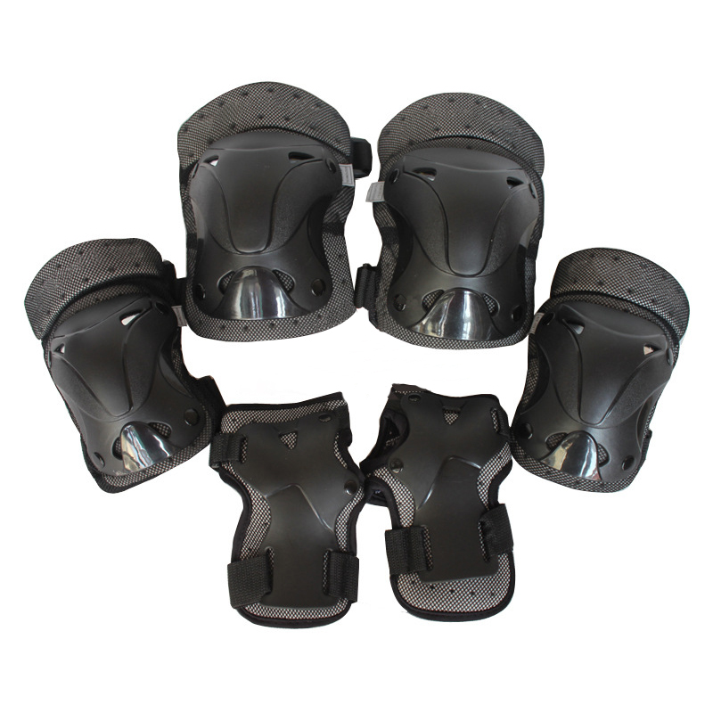 LumiParty Adult Safety Protective Gear6pcs Set Protective Pads for Multi Sports Skateboarding Inline <font><b>Roller</b></font> Skating Cycling