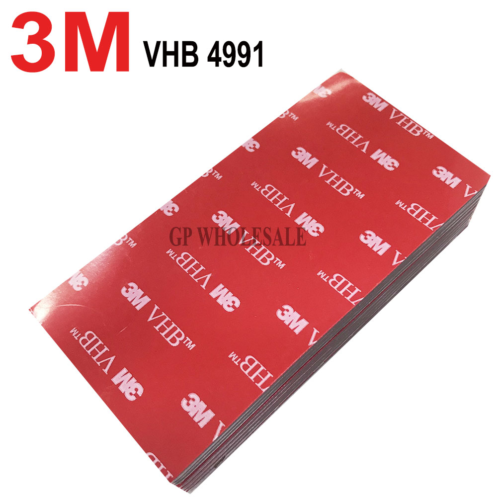 3M VHB 4991 Double Sided Adhesive Acrylic Foam Tape Mounting Tape Gray Thickness: 2.3mm Free Shipping