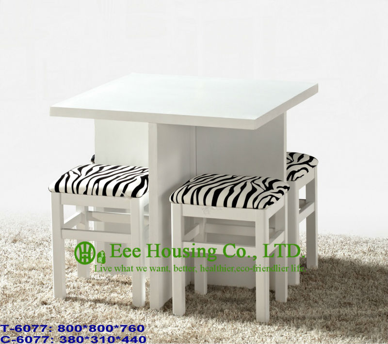 T-6077,C-6077  Luxurious Solid Dining Chair,Solid Wood Dinning Table Furniture With Chairs/Home Furniture