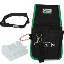 hot deal buy free shipping pro'skit general purpose tool pouch electrician waist tool belt + free tool case gift holder storage tool bags