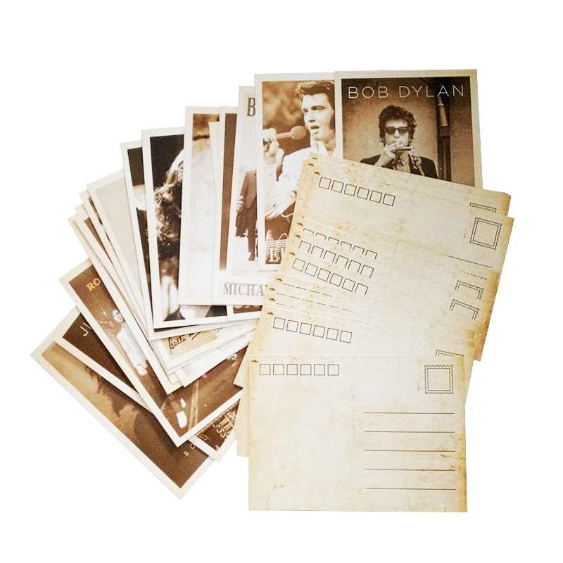 32 Pcs/pack Vintage Poster Drawing business cards Greeting Postcards Set Gift WW2 Military Theme Classic Card