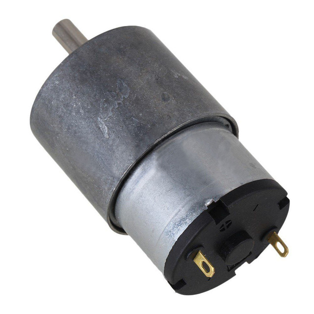 DC24V 37mm 33RPM vitesse sans charge | Moteur électrique Miniature à courant Direct en métal pour actionneur automatique, faible bruit