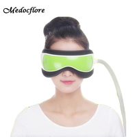 Hot Air pressure Eye Massager With MP3 6 Functions Dispel Eye Bags Eye Magnetic Far Infrared Heating Eye Care