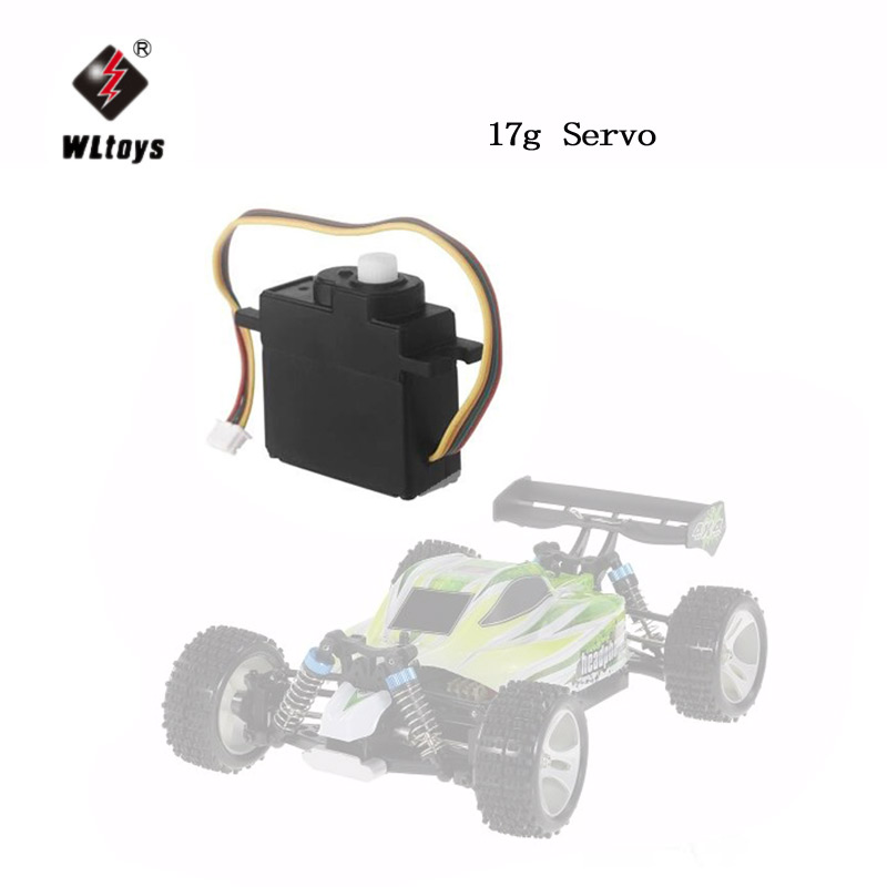2Pcs Wltoys 17g Servo for Wltoys A949 A959 A969 A979 K929 A959-B A969-B A979-B K929-B K929-A RC Monster Truck Off-Road Car
