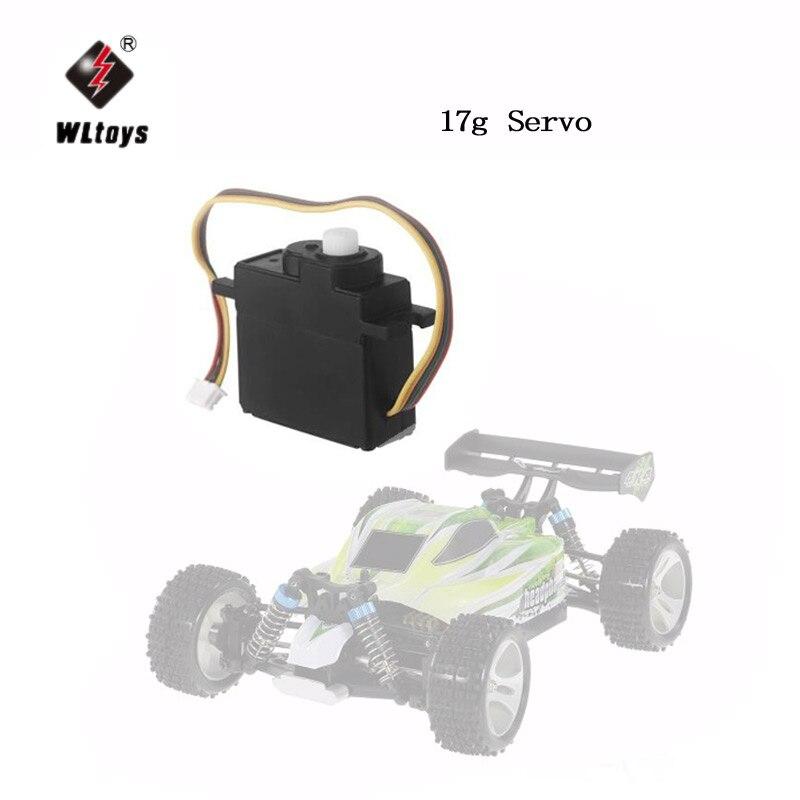 2Pcs Wltoys Mental Gear 17g Servo for Wltoys A949 A959 A969 A979 K929 A959-B A969-B A979-B K929-B K929-A RC Monster Off-Road Car