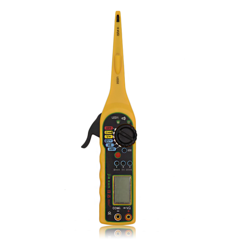 Testeur de Circuit automatique avec écran multi-fonction multimètre voiture réparation automobile détecteur de contrôle électronique lampe