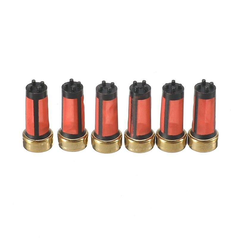 20 Pcs Auto Benzin Kraftstoff Injektor Micro Filter MD619962 Für Mitsubishi Auto Sapre Teile Zubehör 14*6*3mm