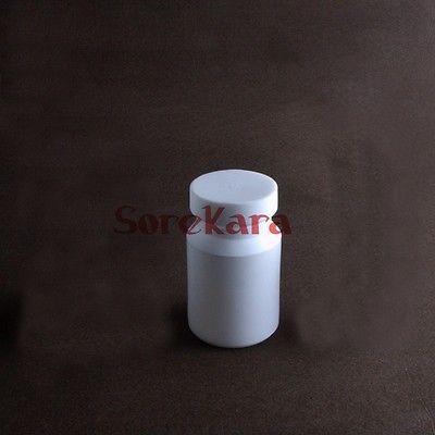 100ml PTFE Teflon Reagent Bottle Screw Cap Screw On Cover Acid Alkali Resistance 10ml ptfe teflon crucible breakers with cover