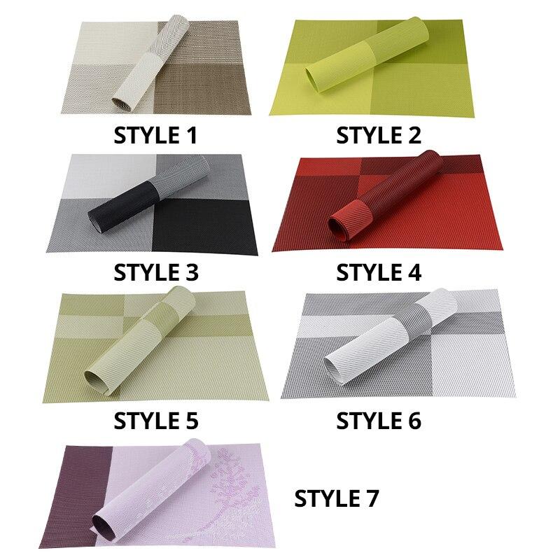 Σετ από 8 πλακίδια χρώματος μπλοκ PVC - Κουζίνα, τραπεζαρία και μπαρ - Φωτογραφία 4