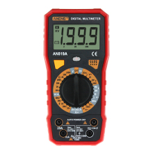 ANENG AN819A  Digital Multimeter 1999 AC DC Current Voltage Capacitance Resistance Diode Tester + Crocodile Clip