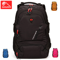 Outdoor Men Mountaineering Backpack Tourist Luggage Bag Sports Camping Hiking Rucksack Riding Schoolbag Travel Bags Sports Bag