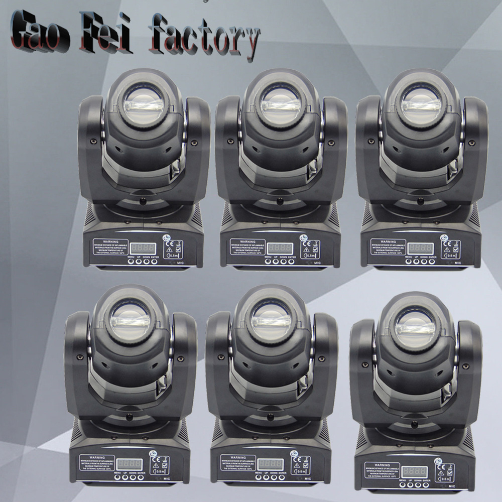 30w DMX mini gobo projector spot led moving head High quality 30W Party disco ktv stage light factory sale Fast Shipping