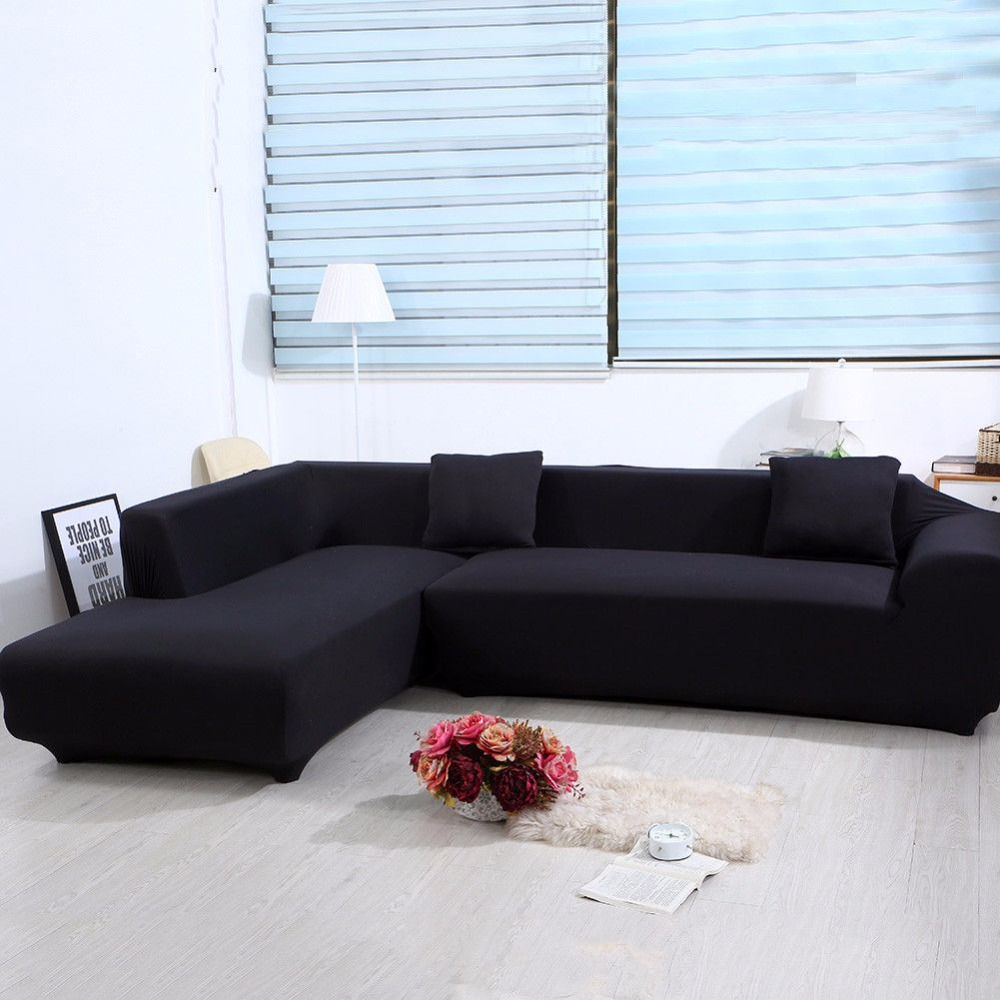 Sofa L 2 X 2 Us 51 5 50 Off Enipate L Shape Stretch Elastic Fabric Sofa Cover Sectional Corner Couch Covers Elastic Sofa Anti Ash Decor Resistant Sofa Cover In