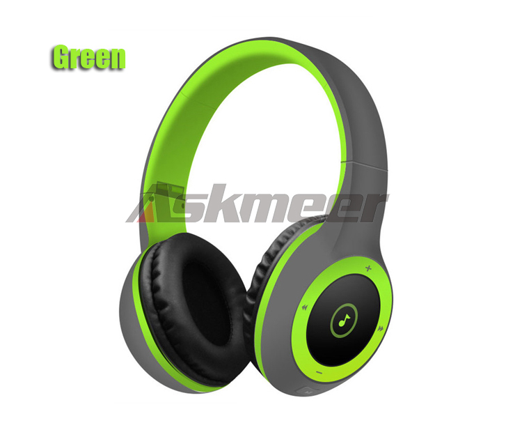 Askmeer T8 Wireless Bluetooth Headphone Foldable Stereo Earphone Headset Handsfree with Microphone Support TF Card Music Play (14)