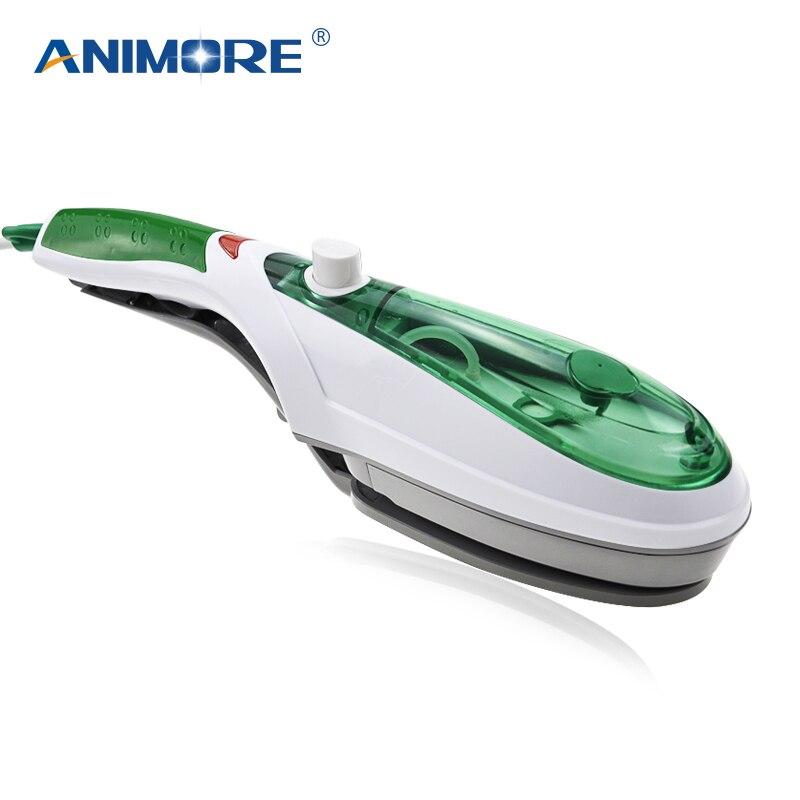 ANIMORE mano cepillo de vapor plancha de vapor portátil para ropa generador planchado vapor para ropa interior hierro vapor