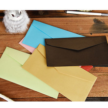 50 PCS /lot 6 color imported pearl wedding planning black CARDS with envelopes gifts invitation colorful