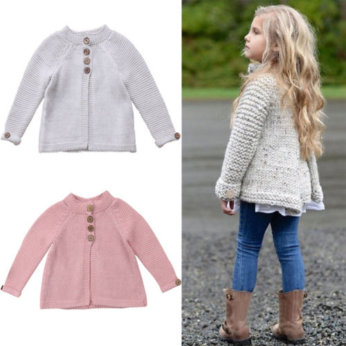 b9e266f2d Cute Toddler Kids Baby Girl Cloak Sweaters Knitting Coat Outwear ...