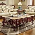 Античный диван из твердой древесины  центральный стол для роскошной мебели в европейском стиле от бренда ProCARE