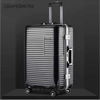 20/24 inch size New Korean aluminum frame Rolling Luggage Spinner Men Business brand Suitcase Wheels Carry Ons Travel Bags - DISCOUNT ITEM  30% OFF All Category
