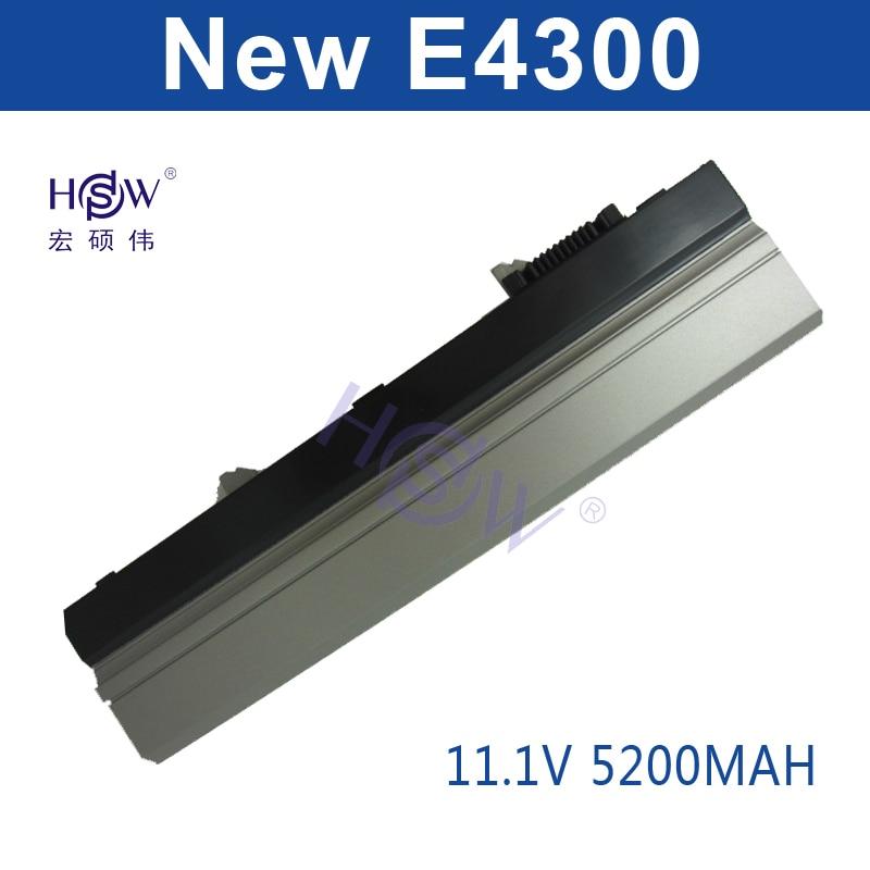 HSW New laptop battery for Dell Latitude E4300 E4310 E4320 E4400 PP13S XX337 YP459 YP463 U817P 312-9956 9H414 XX327 XX330 XX334 hsw 7800mah laptop battery for dell latitude e4300 e4310 0fx8x 312 0822 312 0823 312 9955 451 10636 451 10638 451 11459 bateria