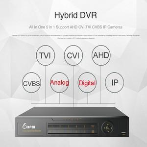 Image 2 - KEEPER enregistreur vidéo hybride DVR, 4 canaux 1080N AHD Full HD, 5 en 1, compatible TVI CVI AHD CVBS IP, 4