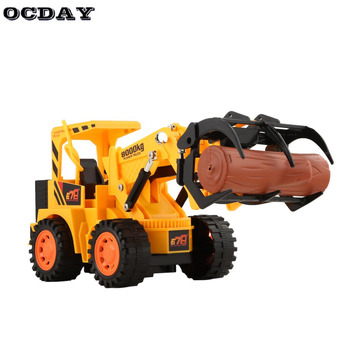 Ocday Boys Remote Control Rc Car Toys Construction Vehicle Toy