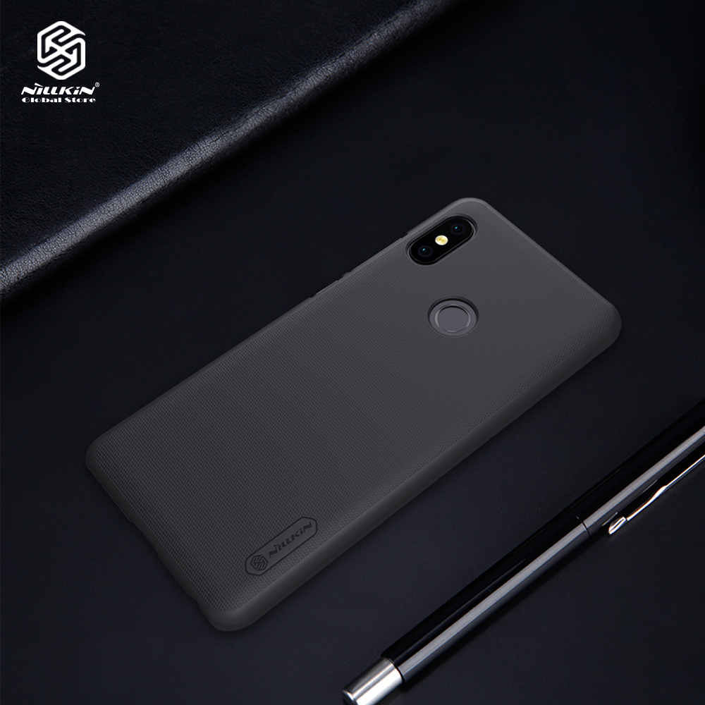Nillkin case for Xiaomi Redmi Note 5 Pro cover Matte phone shell thin PC Hard cases for Redmi Note5 Pro Free Screen Protector