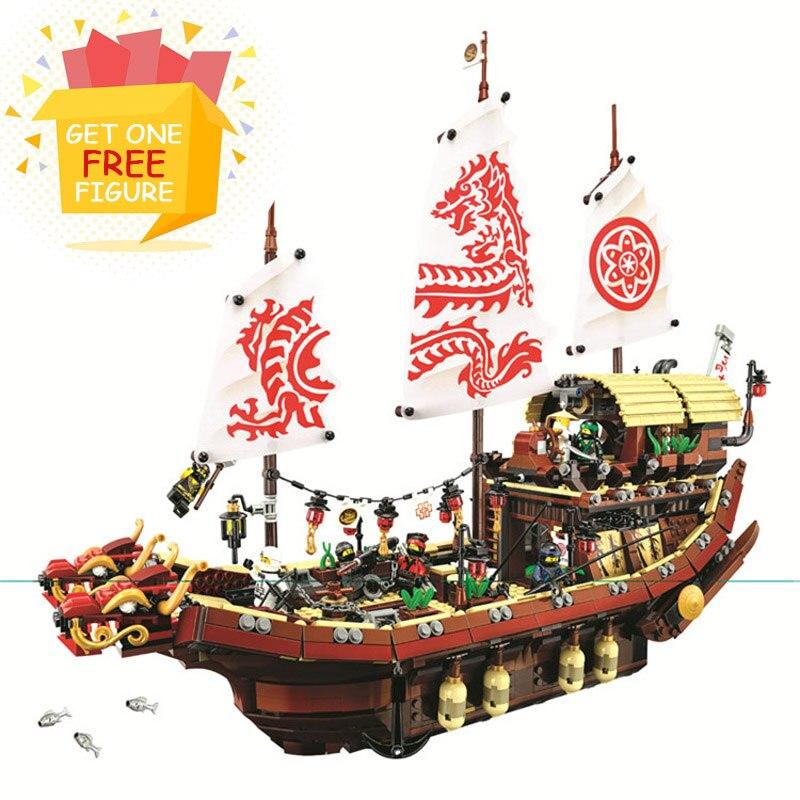 Bela Pogo Compatible Legoe 10723 2363PCS+ Ninjagoe Final Fight Destiny's Bounty Building Blocks Bricks toys for children pogo lepin toy phantom of ghost ninjagoe thunder swordsman building blocks bricks toys compatible legoe