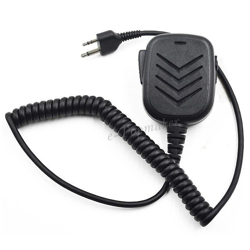 bilder für XQF Schulter Handheld Lautsprecher-mikrofon PTT für Midland Tragbare Radio Alan 39 GXT550 GXT5000 75-785 75-786 75-810 Walkie Talkie