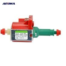 AIYIMA 1 unids AC220V Electromagnética Bomba ULKA Bombas De Agua 22 W Para Limpiador De Vapor Electrodomésticos HF Importado Original