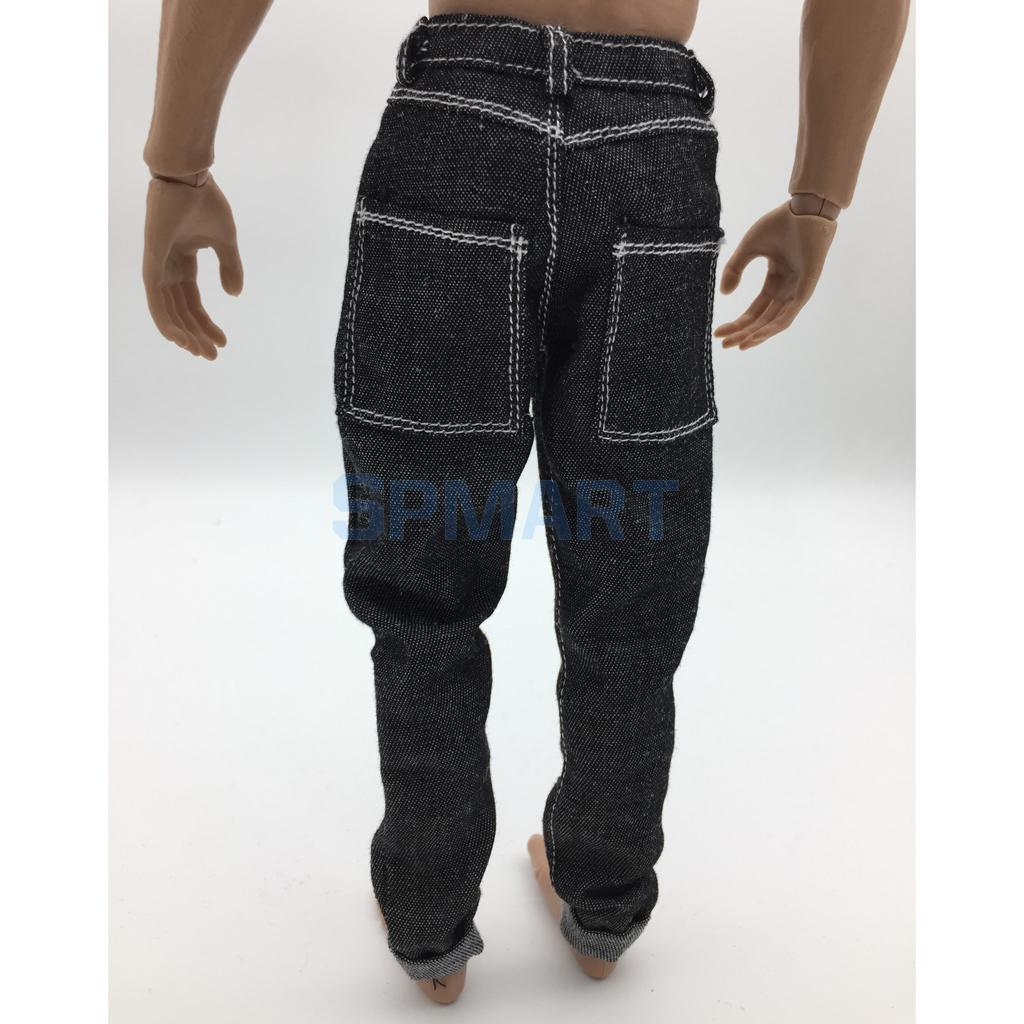 1:6 Casual Pants Trousers Clothing for 12/'/' Hot Toys Phicen Action Figures